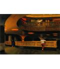 Edward Hopper - Il Teatro Sheridan. Stampa su tela