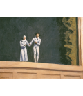 Edward Hopper - Two Comedians. Printing on canvas
