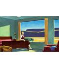 Edward Hopper - Western Motel. Stampa su tela