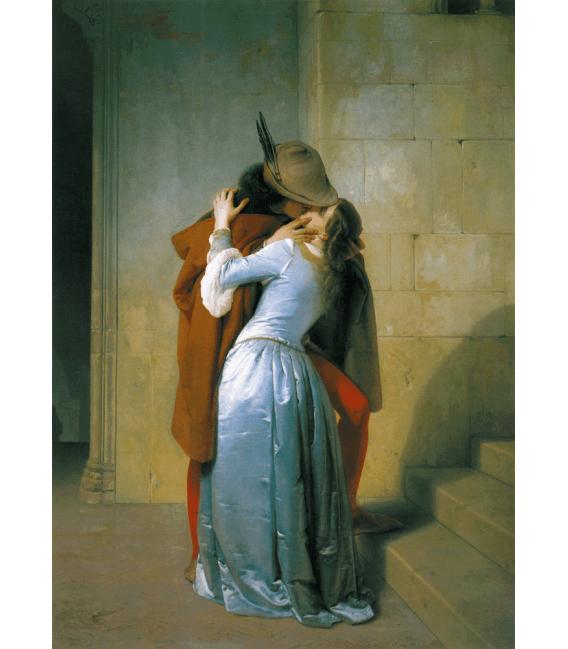 Printing on canvas: Francesco Hayez - The Kiss