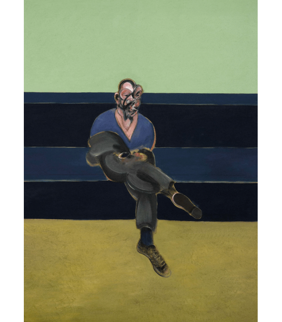 Stampa su tela: Francis Bacon - Study from Portrait of P.L.