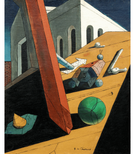Printing on canvas: Giorgio De Chirico - The Evil Genius of a King