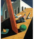 Stampa su tela: Giorgio De Chirico - Il cattivo genio di un re