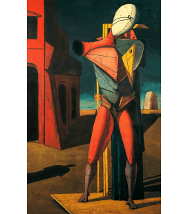 Printing on canvas: Giorgio De Chirico - The Troubadour