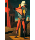 Giorgio De Chirico - The Troubadour. Printing on canvas