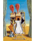 Stampa su tela: Giorgio De Chirico - Le muse della Musica