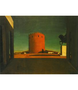 Giorgio De Chirico - Volos (Grecia). Stampa su tela