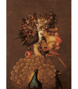 Giuseppe Arcimboldo - Aria. Stampa su tela