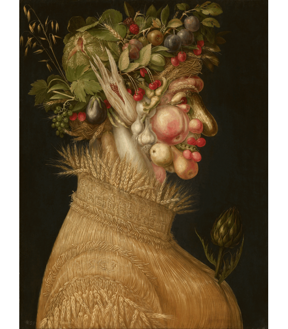 Printing on canvas: Giuseppe Arcimboldo - Summer