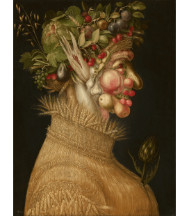 Giuseppe Arcimboldo - Summer. Printing on canvas