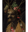 Printing on canvas: Giuseppe Arcimboldo - Four Seasons in One Head -