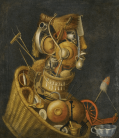 Stampa su tela: Giuseppe Arcimboldo - Natura morta antropomorfica