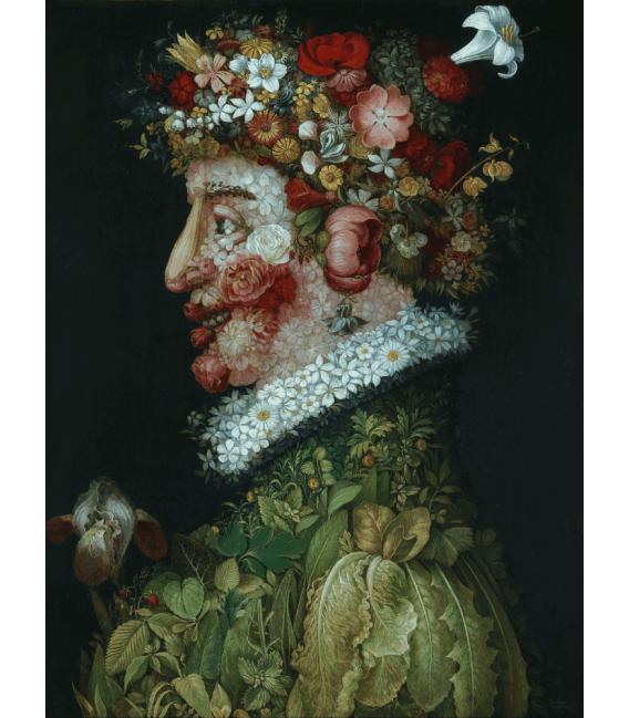 Printing on canvas: Giuseppe Arcimboldo - Spring