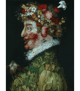 Giuseppe Arcimboldo - Spring. Printing on canvas