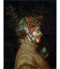 Giuseppe Arcimboldo - Allegorical Portrait, Summer. Printing on canvas