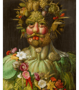 Giuseppe Arcimboldo - Portrait of Rudolf II of Habsburg as Vertumnus. Printing on canvas