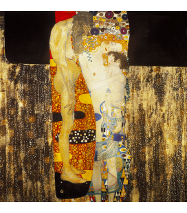 Printing on canvas: Gustav Klimt - The Three Ages of Woman