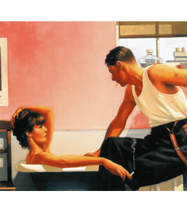 Jack Vettriano - Bad Boys Blues. Stampa su tela