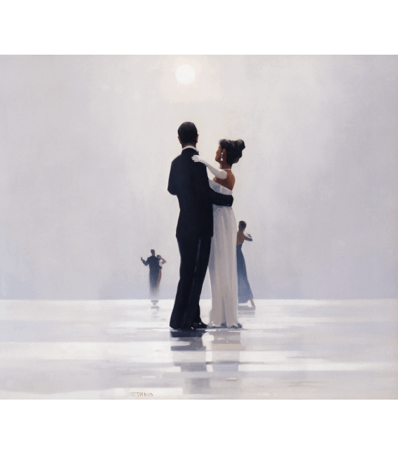 Stampa su tela: Jack Vettriano - Dance Me To The End Of Love