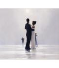 Jack Vettriano - Danziamo fino alla fine dell'amore. Stampa su tela