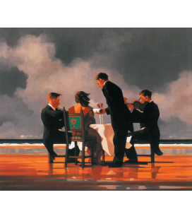 Jack Vettriano - Elegy For The Dead Admiral. Printing on canvas