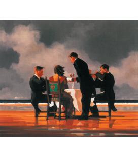 Jack Vettriano - Elogio per la morte di Admira. Stampa su tela