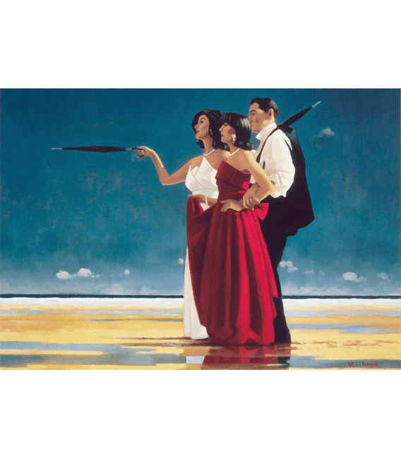 Printing on canvas: Jack Vettriano - The Missing Man I
