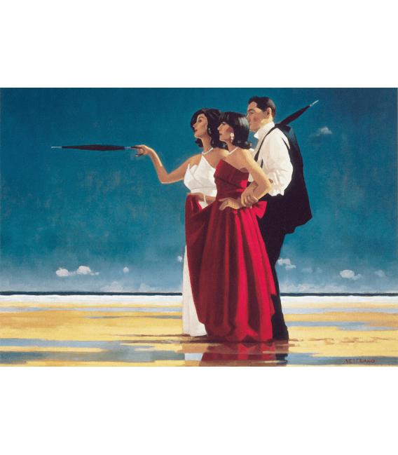 Stampa su tela: Jack Vettriano - The Missing Man I