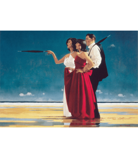 Jack Vettriano - The Missing Man I. Printing on canvas