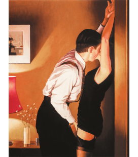 Jack Vettriano - Game On. Printing on canvas
