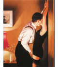 Jack Vettriano - Inizio Partita. Stampa su tela