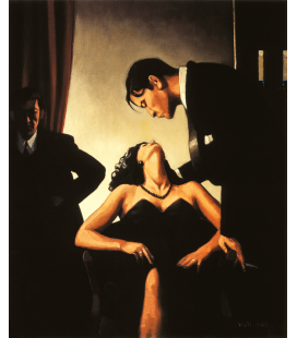 Jack Vettriano - Games of Power. Printing on canvas