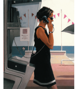 Jack Vettriano - Her Secret Life. Printing on canvas