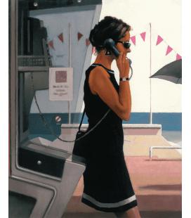 Jack Vettriano - La sua vita Segreta. Stampa su tela
