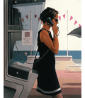 Printing on canvas: Jack Vettriano - Her Secret Life