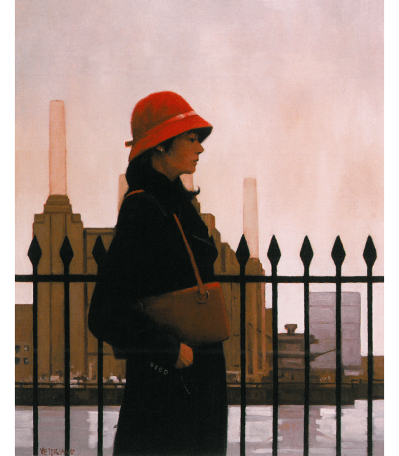 Printing on canvas: Jack Vettriano - Just Another Day