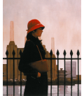 Jack Vettriano - Just Another Day. Printing on canvas
