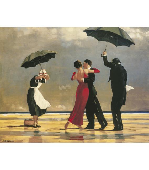 Stampa su tela: Jack Vettriano - The Singing Butler