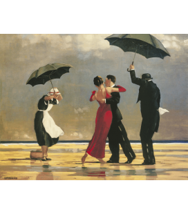 Jack Vettriano - The Singing Butler. Printing on canvas