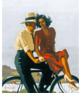 Jack Vettriano - Lazy Hazy Days. Printing on canvas