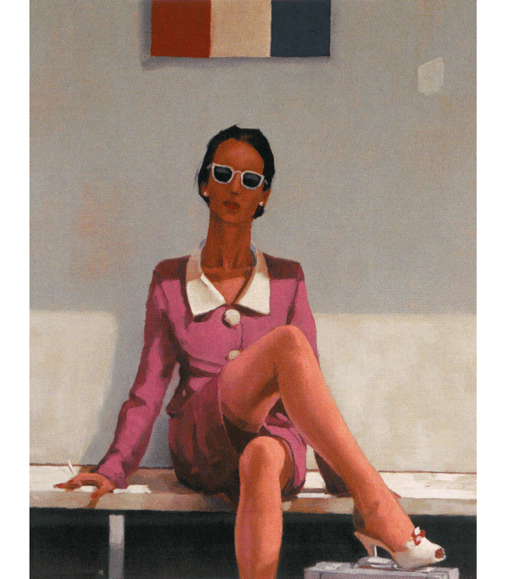 Printing on canvas: Jack Vettriano - The Tourist