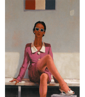 Jack Vettriano - The Tourist. Printing on canvas