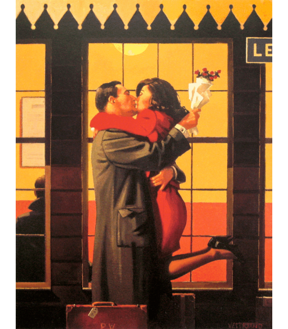 Printing on canvas: Jack Vettriano - Back to the origins