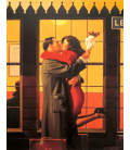 Jack Vettriano - Back to the origins. Printing on canvas