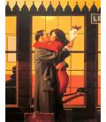 Jack Vettriano - Ritorno alle origini. Stampa su tela