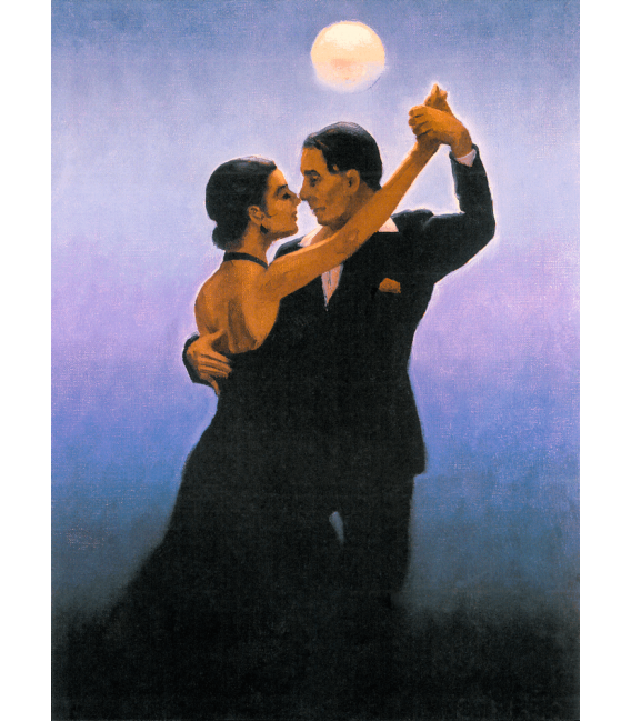 Printing on canvas: Jack Vettriano - Tango Dancers