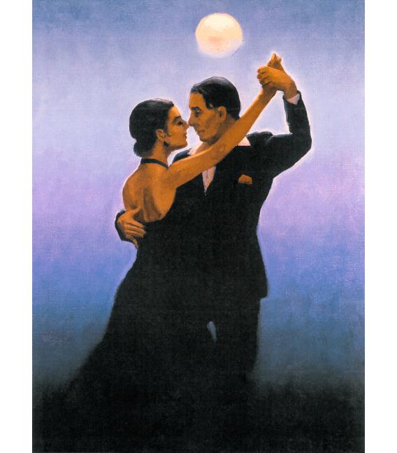 Stampa su tela: Jack Vettriano - Tango Dancers