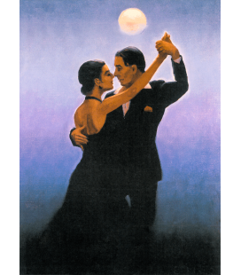 Printing on canvas: Jack Vettriano - Tango Dancers