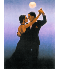 Jack Vettriano - Tango Dancers. Printing on canvas