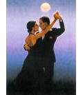 Jack Vettriano - Ballerini di Tango. Stampa su tela
